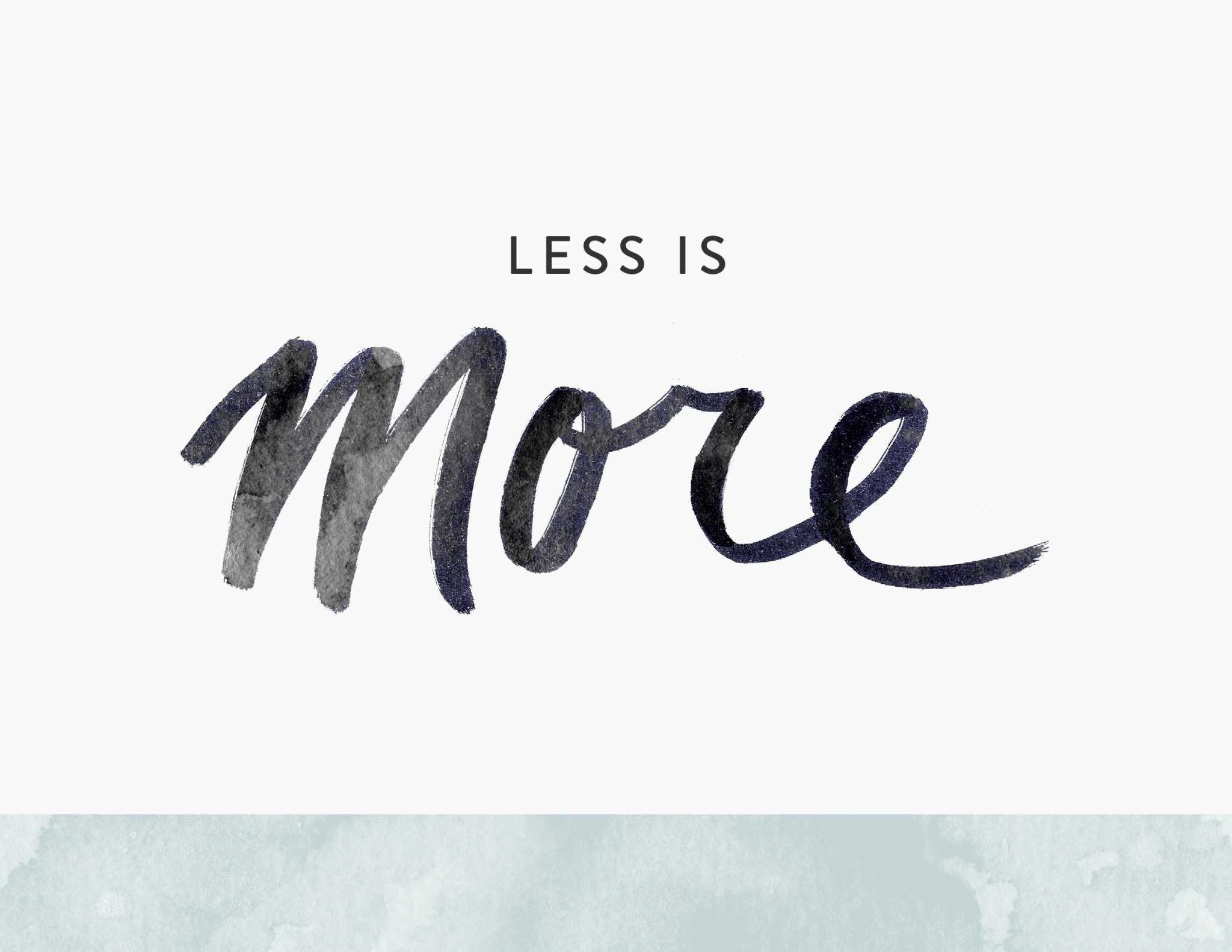 less-is-more-feat