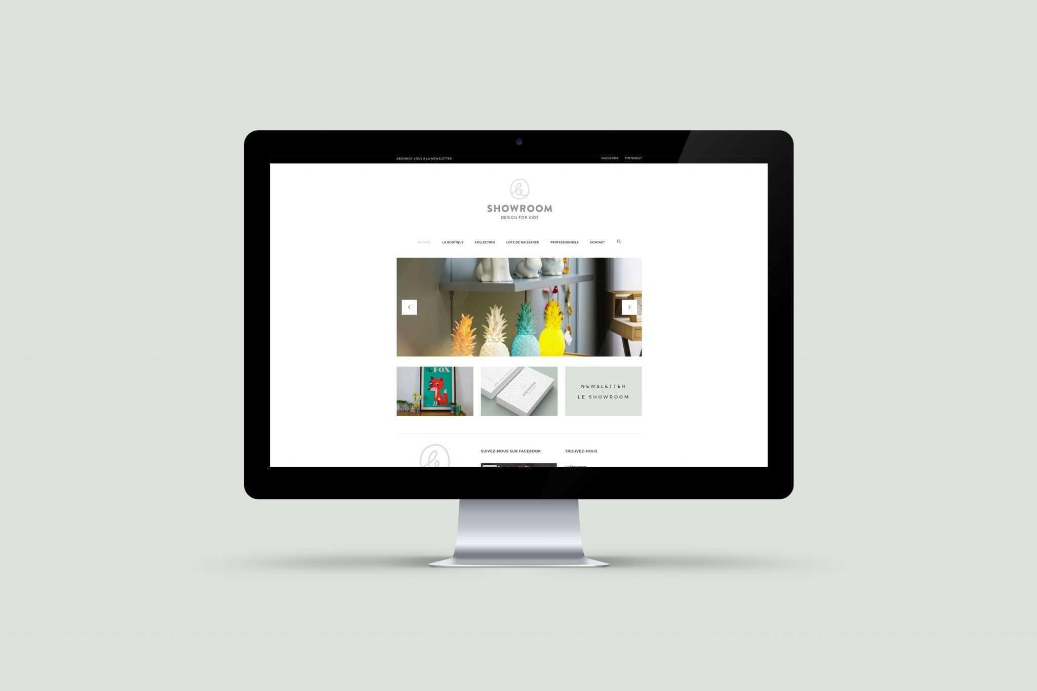 le-showroom-site-web-design