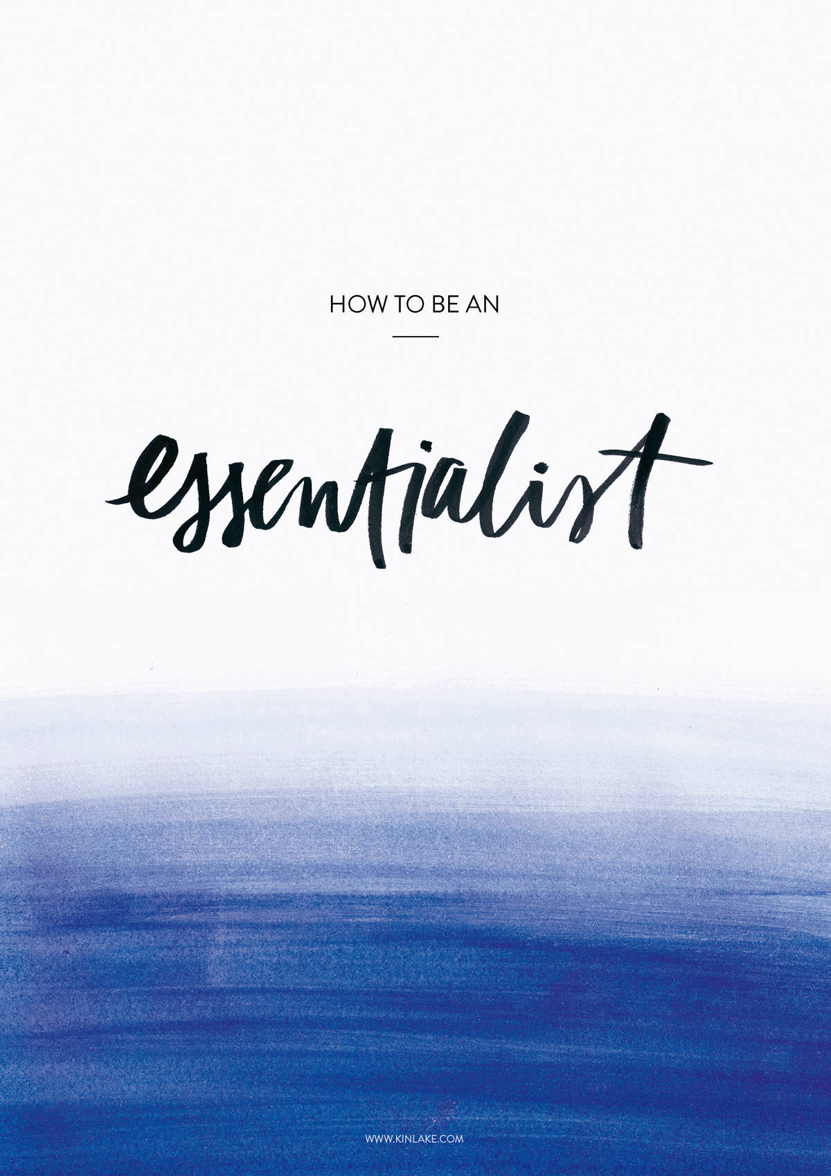 How-To-Be-An-Essentialist